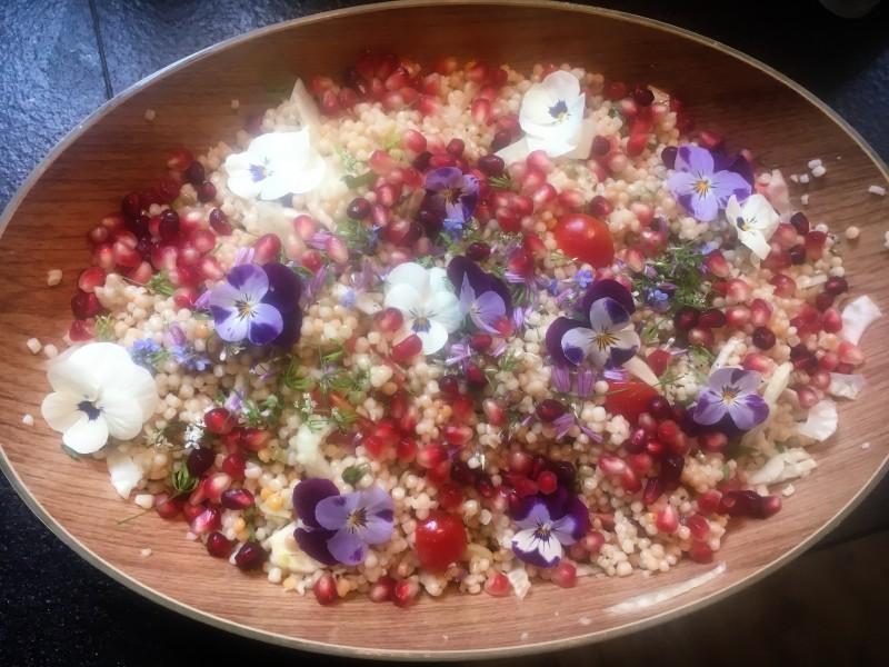 Midden Oosters buffet - parelcouscous salade