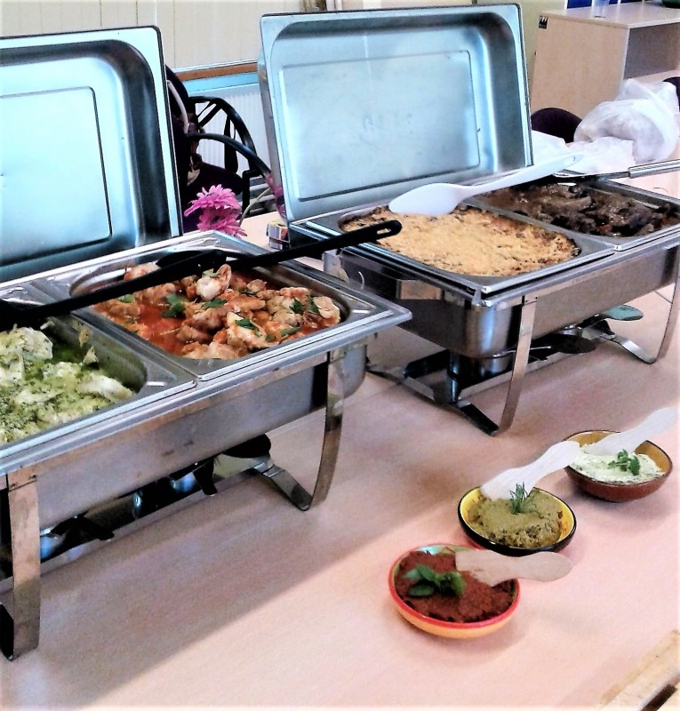 warm buffet de groene peper catering